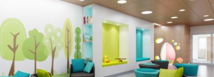 © Parkin Architects Ltd. | Institutional Design for Women and Children Healthcare Facilities