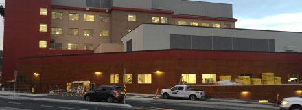 © Parkin Architects Ltd.   Making progress at Penticton Regional Hospital David Kampe Tower
