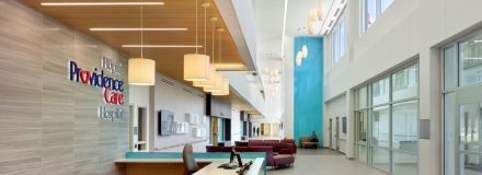 © Parkin Architects Ltd. | Providence Care Hospital | Designing the Healing Environment and Communicating Solutions