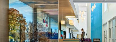 © Parkin Architects Ltd. | Providence Care Hospital published in Healthcare Design Magazine