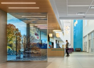 © Parkin Architects Ltd. | Health minister cuts ribbon for Providence Care Hospital