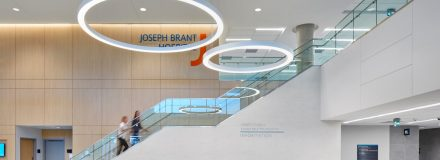 © Parkin Architects Ltd. | Joseph Brant Hospital Published in August 2018 issue of Healthcare Design Magazine