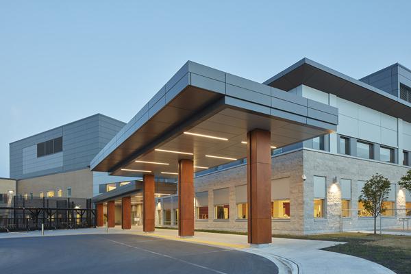 © Parkin Architects Ltd. | Providence Care Hospital
