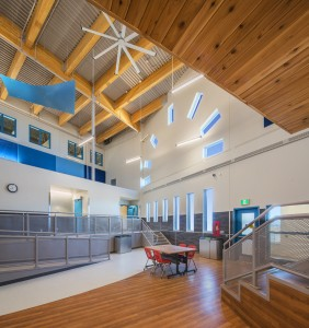 © Parkin Architects Ltd. | Tuugaalik High School selected for Outstanding Design by 2017 American School & University Educational Interiors Showcase