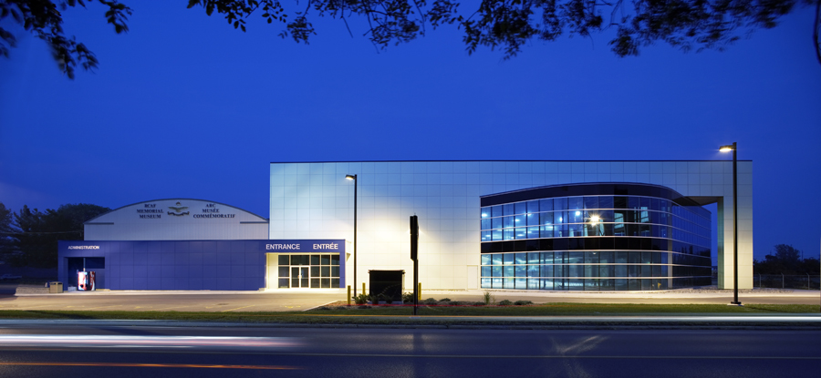 © Parkin Architects Ltd. | Trenton RCAF Aviation Memorial Museum