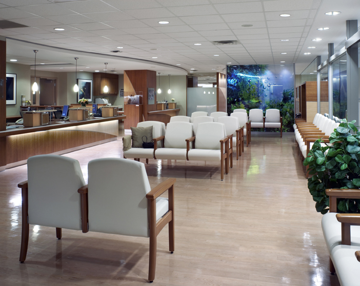 © Parkin Architects Ltd. | Princess Margaret Hospital, M. Lau Breast Centre