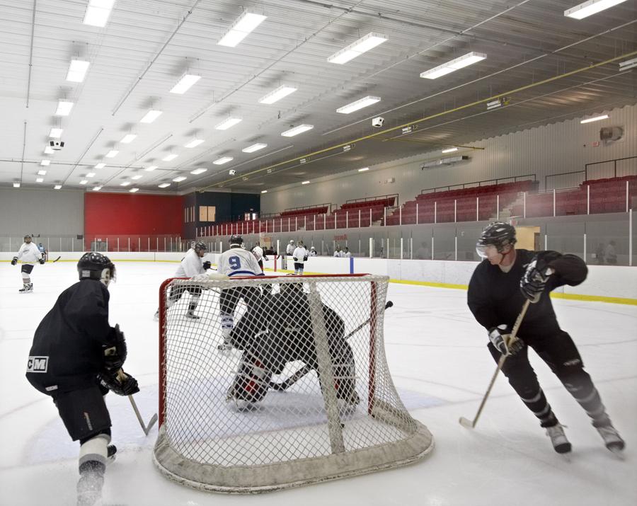 © Parkin Architects Ltd. | Carleton University, Twin Pad Ice Arena