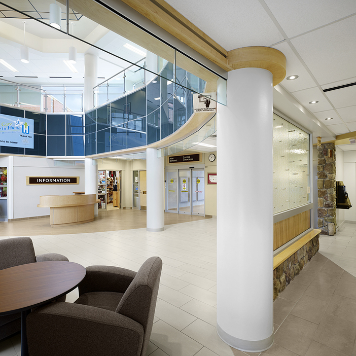 © Parkin Architects Ltd. | Winchester District Memorial Hospital