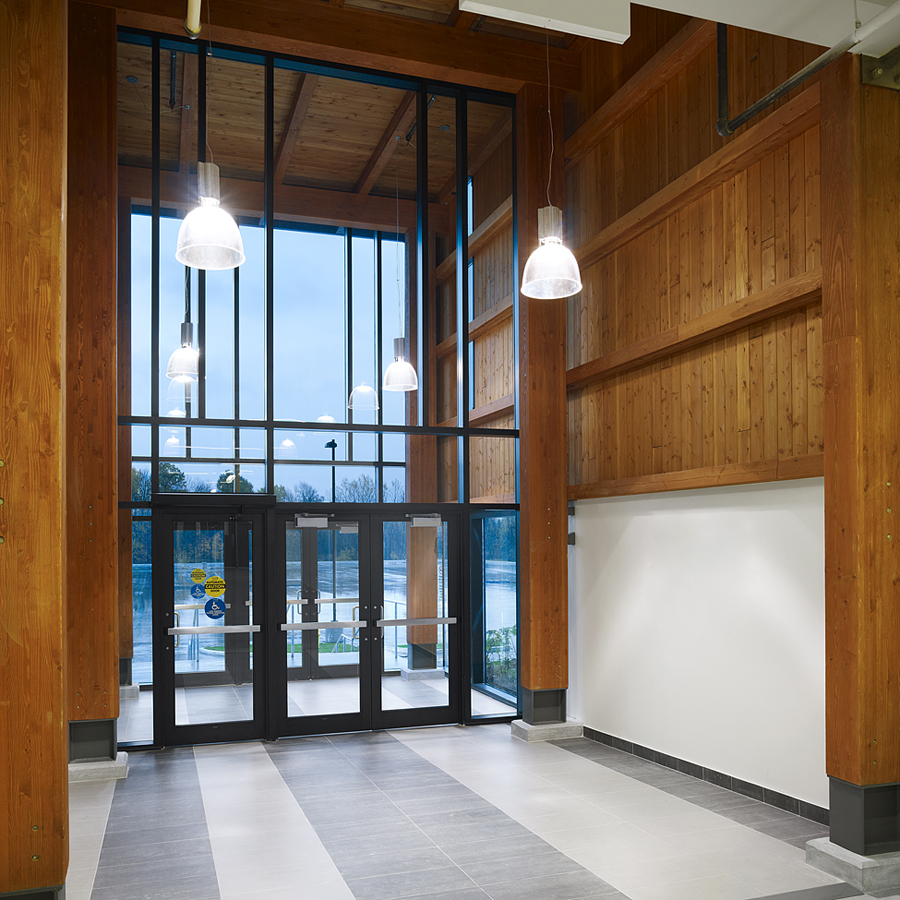 © Parkin Architects Ltd. | Clarence Rockland, Twin Pad Arena