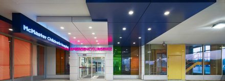 © Parkin Architects Ltd. | McMaster Children's Hospital Published in Healthcare Snapshots