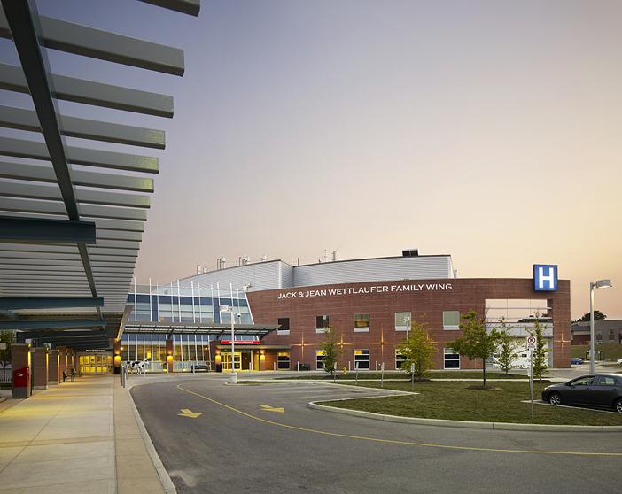 © Parkin Architects Ltd.   Woodstock Hospital