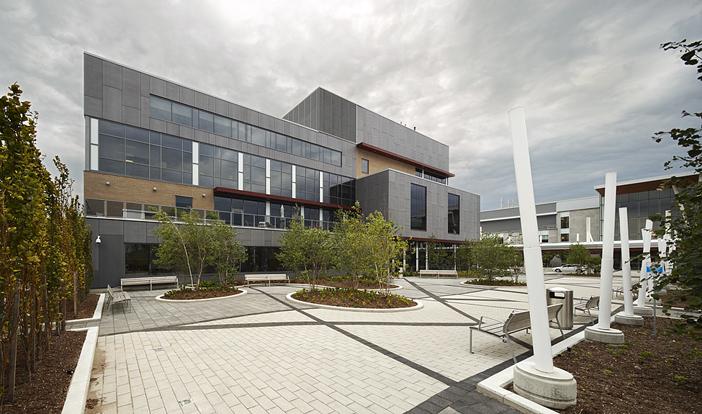 © Parkin Architects Ltd. | Royal Victoria Regional Health Centre (RVH), Rotary Place
