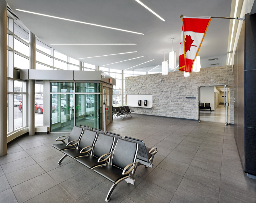 © Parkin Architects Ltd. | Toronto Immigration Holding Centre