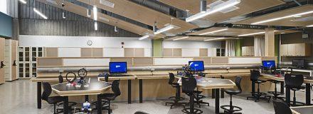 © Parkin Architects Ltd. | University of Toronto Mississauga, Physics Undergraduate Teaching Labs