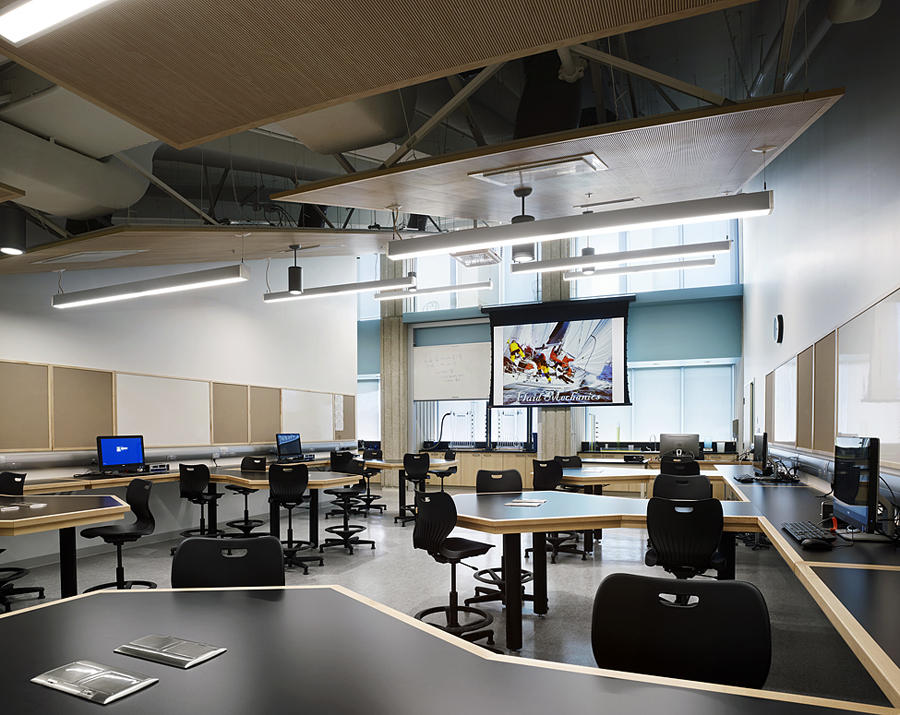 © Parkin Architects Ltd. | University of Toronto, Physics Undergraduate Teaching Labs
