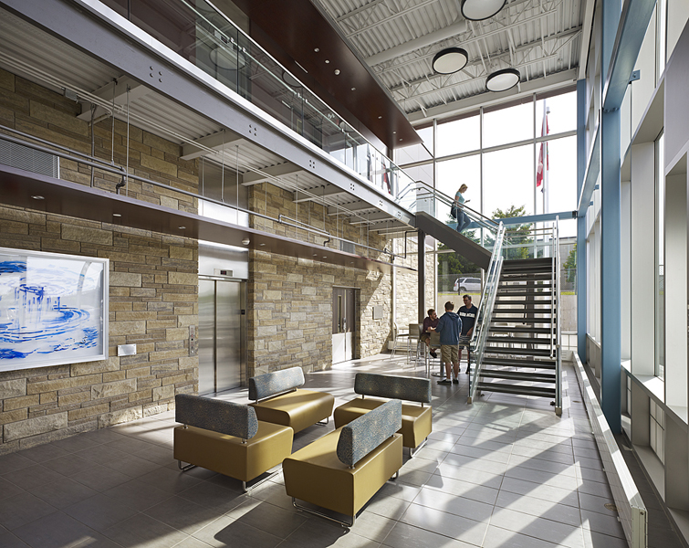 © Parkin Architects Ltd. | Wilfrid Laurier University, Centre for Cold Regions and Water Science