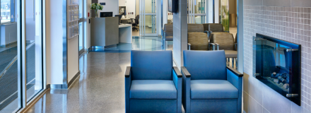 © Parkin Architects Ltd. | Material Selections in Healthcare