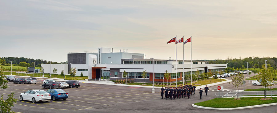 © Parkin Architects Ltd. | York Regional Police, Training Facility