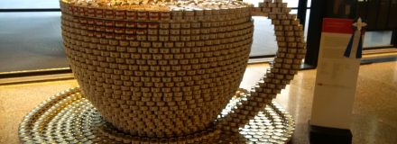 © Parkin Architects Ltd. | Cup of Collaboration | Canstruction 2016