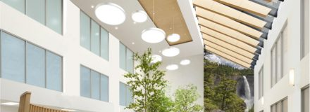 © Parkin Architects Ltd. | Capturing the Healing Effects of Nature in Mental Health Facility Design