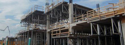 © Parkin Architects Ltd. | New Oakville Trafalgar Memorial Hospital Timeline | Foundation and Structure