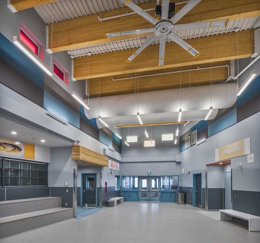 © Parkin Architects Ltd. | Peter Pitseolak High School