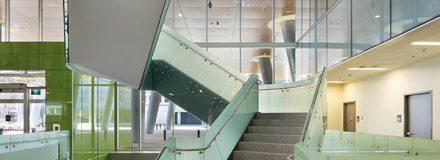© Parkin Architects Ltd.   HSC Winnipeg Women's Hospital published in AWARD Magazine