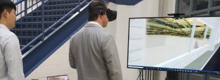 © Parkin Architects Ltd. | Parkin provides a virtual reality demo at City of Waterloo Mayor's Breakfast