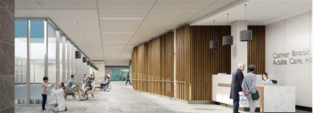 © Parkin Architects Ltd. | New Corner Brook Hospital Update