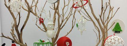 © Parkin Architects Ltd.   2019 Parkin Holidays Ornament – 3D Printing Competition