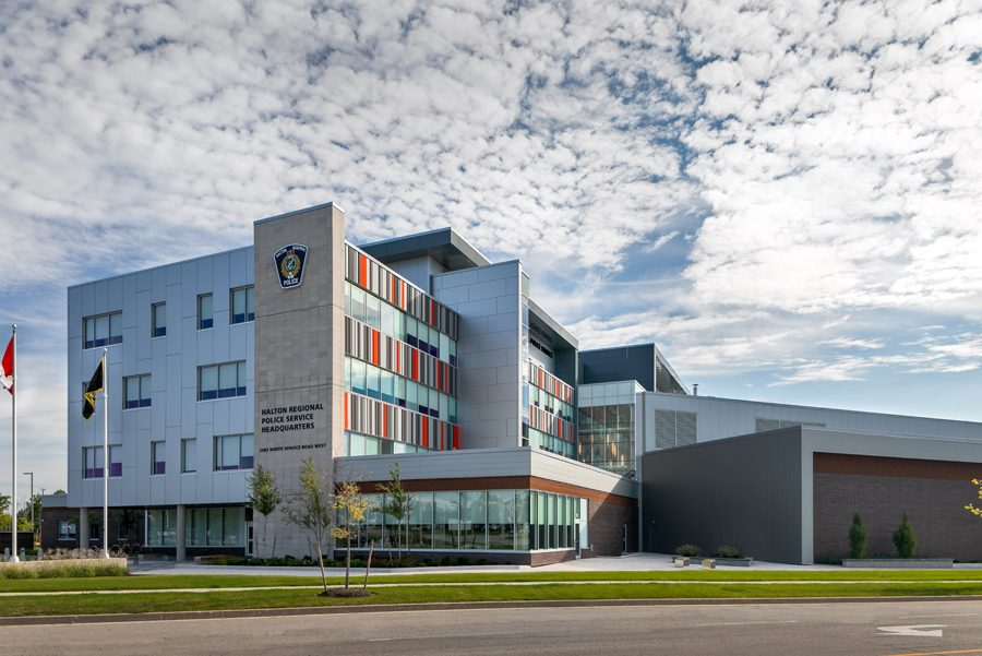© Parkin Architects Ltd. | The Halton Regional Police Services