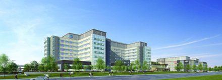 © Parkin Architects Ltd. | New Oakville Trafalgar Memorial Hospital Timeline | Breaking Ground