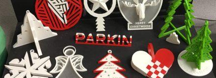 © Parkin Architects Ltd. | 2018 Parkin Holidays Ornament – 3D Printing Competition