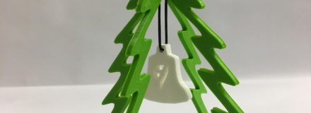 © Parkin Architects Ltd. | 3D Printing – Holiday Ornaments
