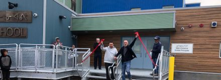 © Parkin Architects Ltd. | Grand Opening of Cape Dorset High School