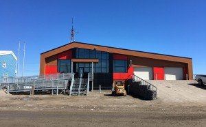 © Parkin Architects Ltd. | New RCMP detachment in Arviat, Nunavut – Nearing Completion