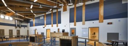 © Parkin Architects Ltd. | Using Colour in Institutional Design Sectors