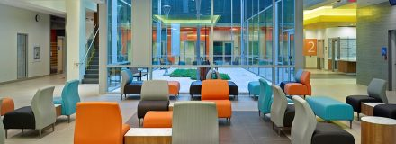 © Parkin Architects Ltd. | Rules for How to Develop Colour Palettes for Hospitals