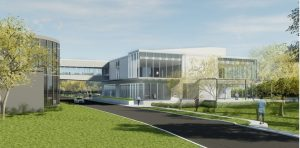 © Parkin Architects Ltd. | Touring Waterloo Memorial Recreation Complex Before it's Built