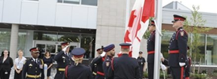 © Parkin Architects Ltd. | Halton police open their new state-of-the-art headquarters