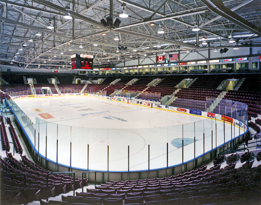 © Parkin Architects Ltd. | Paramount Fine Foods Centre (formerly The Hershey Centre)