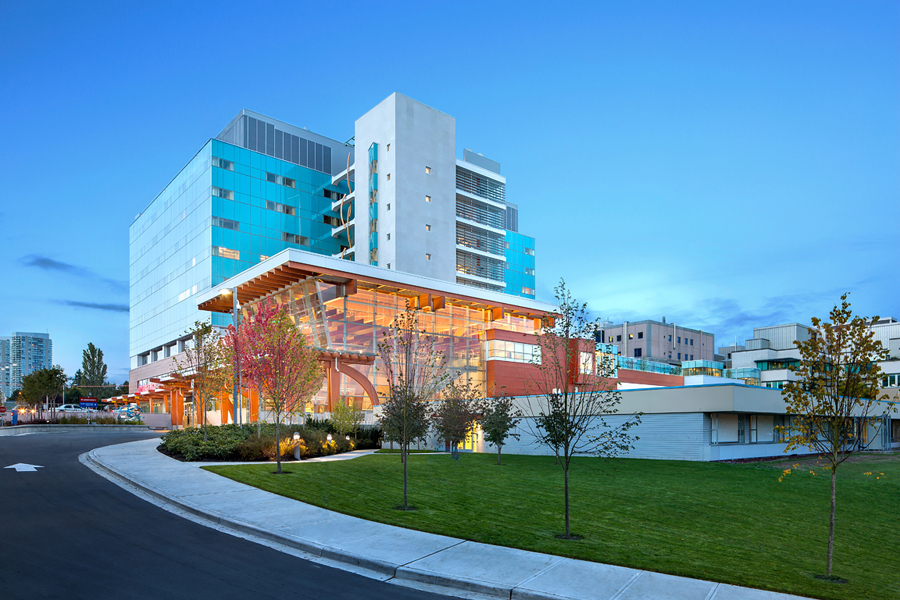 © Parkin Architects Ltd. | Surrey Memorial Hospital, Emergency Department & Critical Care Tower