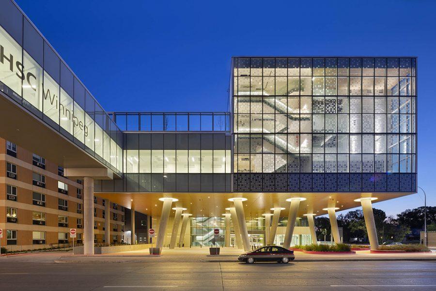 © Parkin Architects Ltd.   HSC Women's Hospital